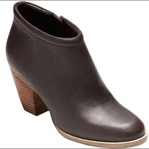 Cole Haan brown leather bootie